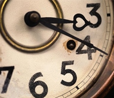 Don't Wait for Large Swaths of Time