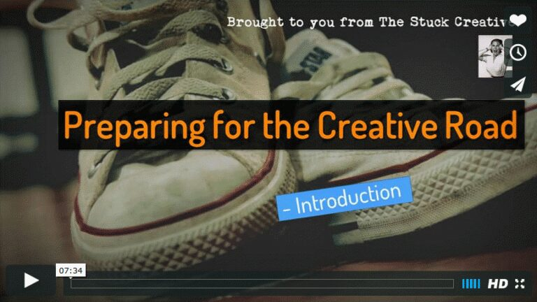 [Video] Preparing for the Creative Road – Introduction