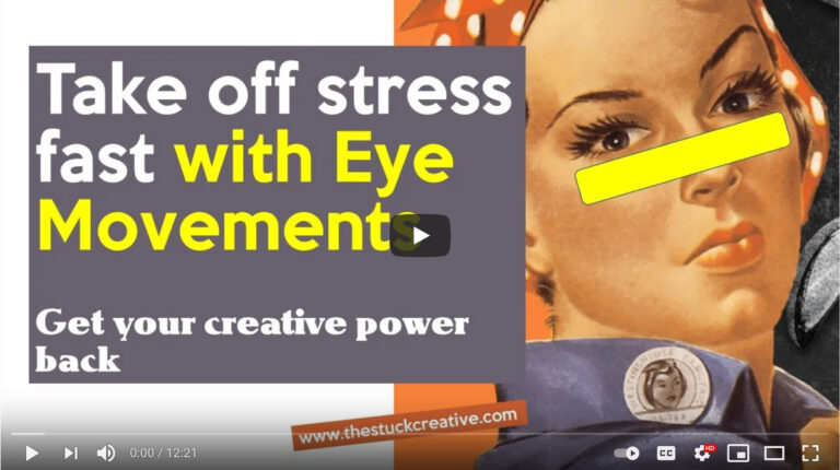 [Video] Use Eye Movements to Calm Down for Work